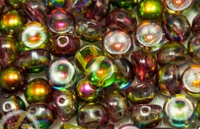 Cabochon Beads 2-hole 6mm
